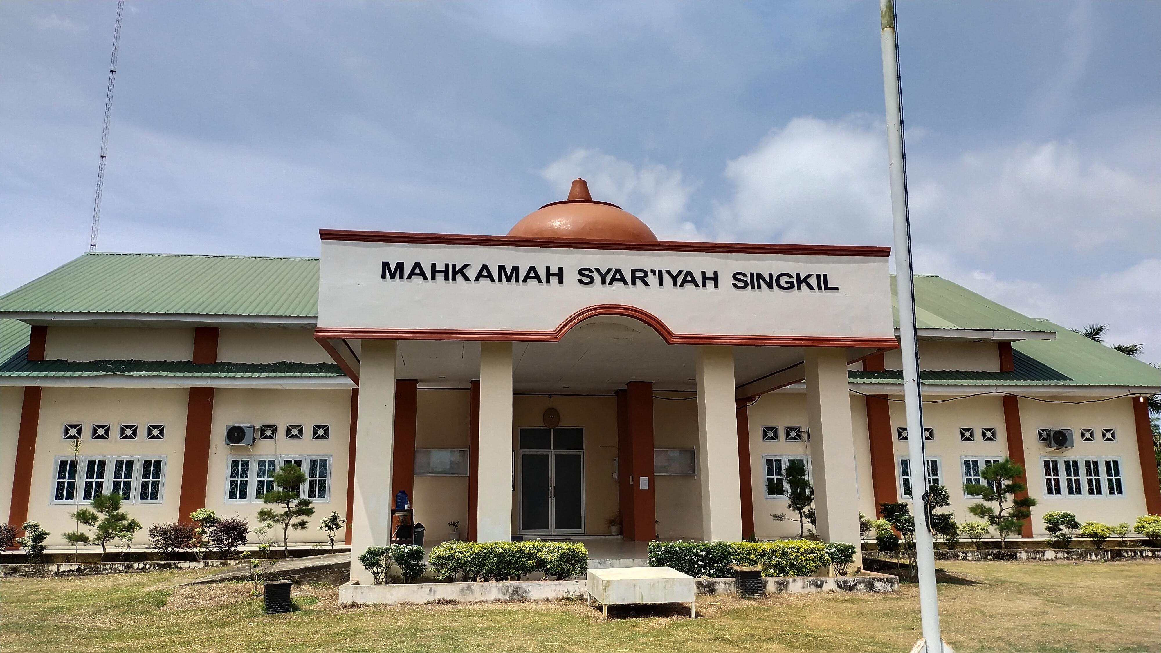SELAMAT DATANG DI WEBSITE MAHKAMAH SYAR'IYAH SINGKIL
